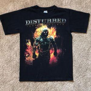 Disturbed Concert T-shirt Indestructible Tour 2008